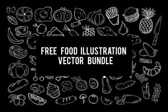 Free Food Illustration Vector_bundle