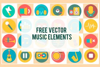 Free Vector Music Elements