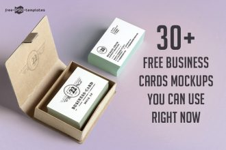30+ Free Business Cards Mockups in PSD You Can Use Right Now