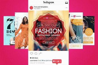 Free Fashion Instagram Banners Bundle
