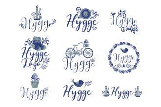 Free Hygge Logo Set