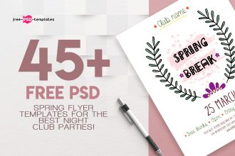 45+PREMIUM & FREE PSD SPRING FLYER TEMPLATES FOR THE BEST NIGHT CLUB PARTIES!