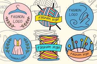 Free Vector Fashion Logo Set
