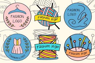 Free Vector Fashion Logo Set