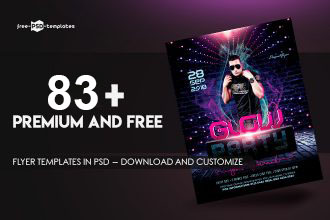 83+Premium & Free Flyer Templates in PSD – Download and Customize