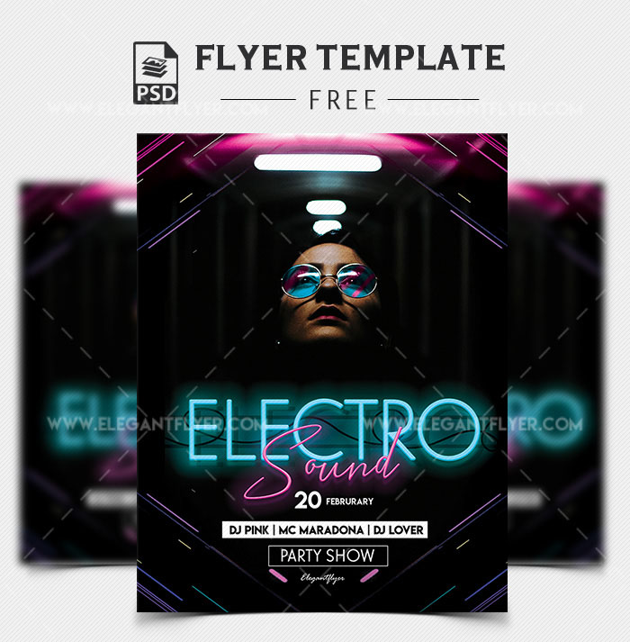 45 Premium and Free Concert Flyer PSD Templates for Music Events