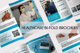 Free Healthcare Bi-Fold Brochure in PSD