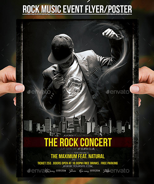 55+ Free Concert Flyer PSD Templates for Music Events ...