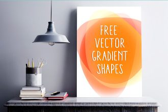 10 Cool Free Vector Gradient Shapes