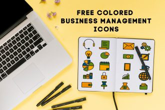 Free Colored Business Management Icons
