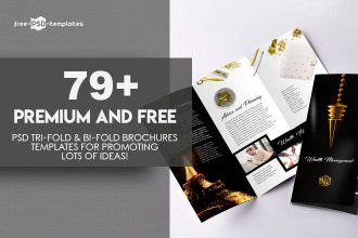 79+Premium and Free PSD Tri-Fold & Bi-Fold Brochures Templates for promoting lots of ideas!
