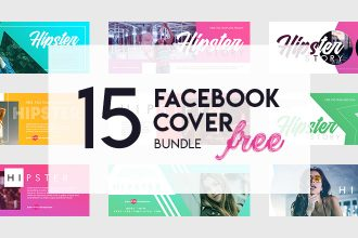 15 Free Hipster Facebook Cover Bundles