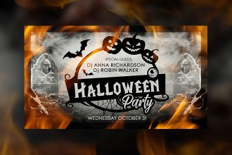 Free Halloween Facebook Event Page