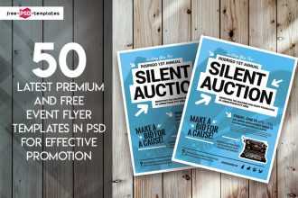 50 Latest Premium and Free Event Flyer Templates in PSD for Effective Promotion