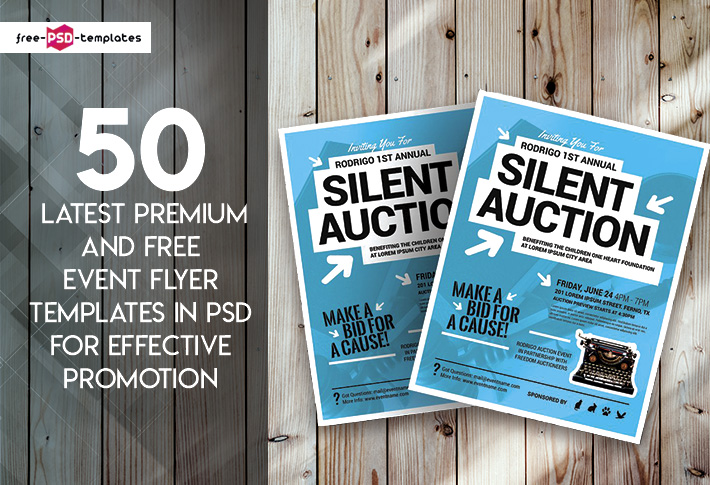 50 latest premium and free event flyer templates in psd for