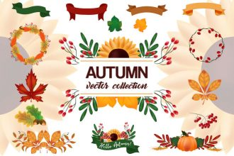Free Autumn Vector Collection