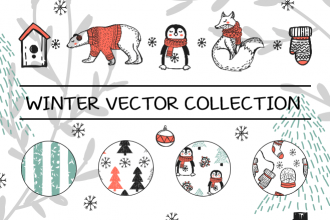 Free Winter Vector Collection