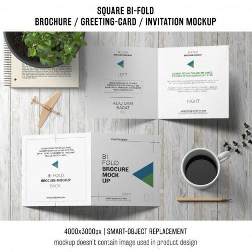 93 Premium And Free Psd Tri Fold Bi Fold Brochures