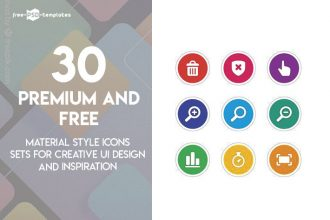 30 Premium and Free Material Style Icons Sets for Creative UI Design and Inspiration
