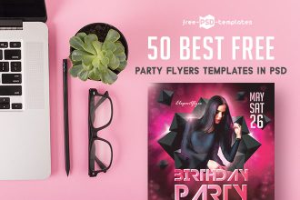 50 Best Free Business & Party Flyers Templates in PSD