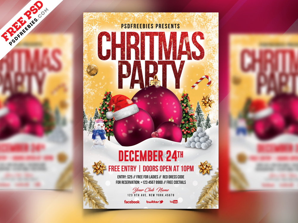 98 Premium Free Flyer Templates Psd Absolutely Free To Download