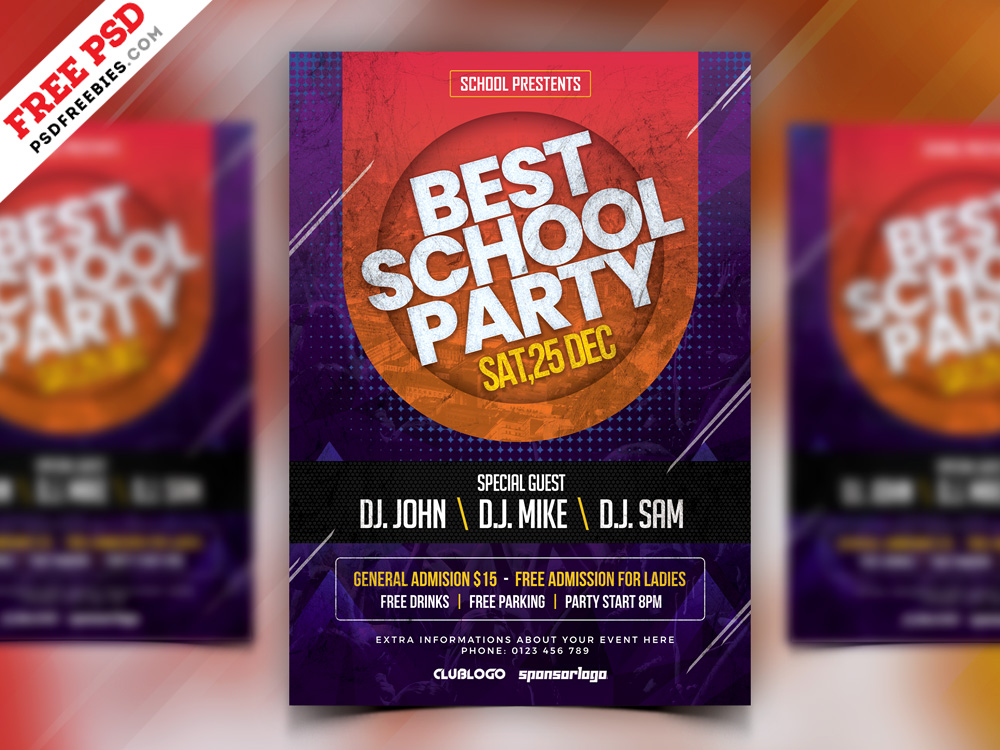 91 Premium Free Flyer Templates Psd Absolutely Free To Download