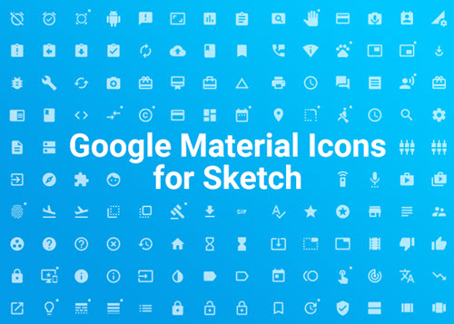30 Premium and Free Material Style Icons Sets for Creative UI Design
