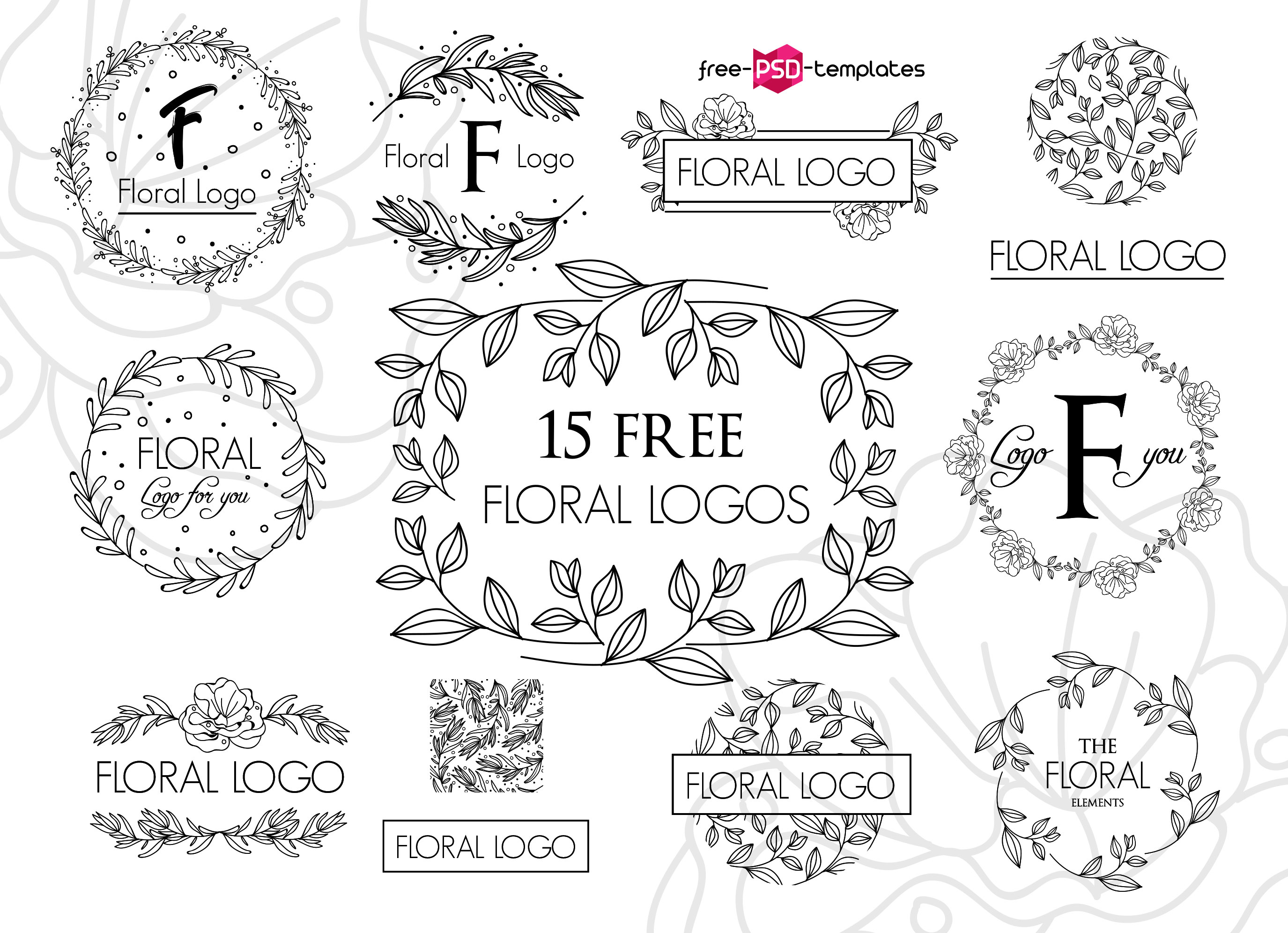 82+Premium & Absolutely Free Logos templates for business