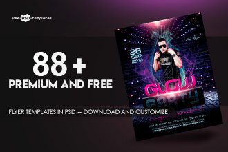 88+ Premium & Free Flyer Templates in PSD – Download and Customize
