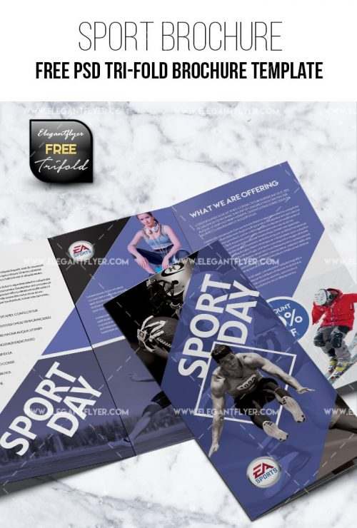 85 premium and free psd tri fold bi fold brochures templates for