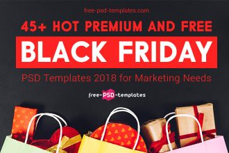 45+ Hot Premium and Free Black Friday PSD Templates 2018 for Marketing Needs