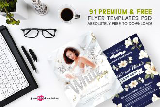 91+ Premium & Free Flyer Templates PSD absolutely Free to Download!