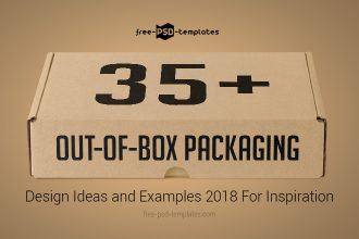 35+ Out-of-Box Packaging Design Ideas and Examples 2018 For Inspiration