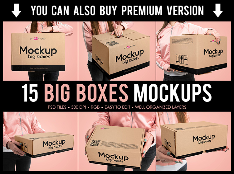 67 Premium Free Psd Packaging Mockups For Business And