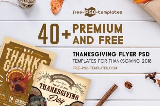 40+ Premium & Free Thanksgiving Flyer PSD Templates for Thanksgiving 2018
