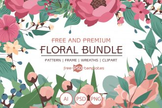 Free Wedding Floral Bundle + Premium Version
