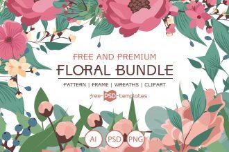 Free Wedding Floral Bundle + Premium Version