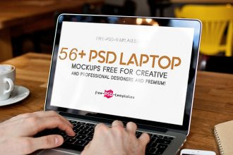 56+PSD Laptop Mockups Free for creative and professional designers and Premium!