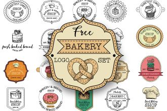 Free Bakery Logo Set
