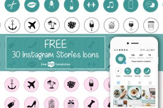Free 30 Instagram Stories Icons