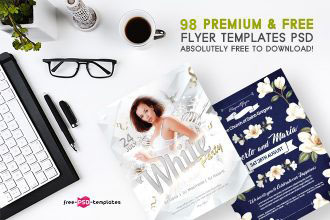 98+ Premium & Free Flyer Templates PSD absolutely Free to Download!