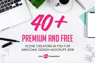 40+ Premium and Free Scene Creators in PSD for Awesome Design Mockups