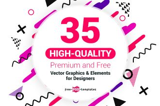 35 Downloadable Premium and Free Vector Graphics & Elements for Designers