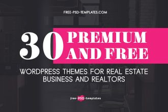 30 Premium and Free WordPress Themes for Real Estate Business & Realtors