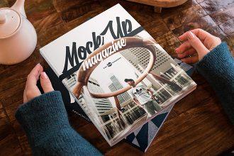 2 Free Magazine Mock-ups in PSD