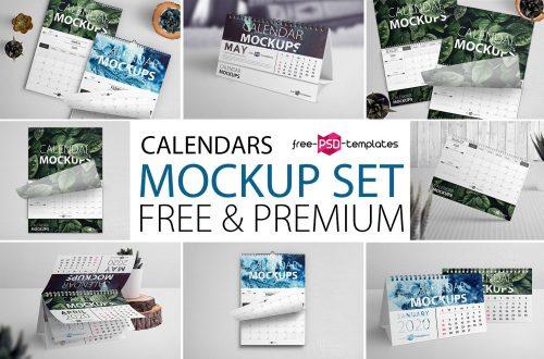 22+ Free Desk Calendar Mock-ups in PSD and Premium Version! | Free