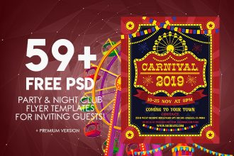59+ PREMIUM & FREE PSD PARTY & NIGHT CLUB FLYER TEMPLATES FOR INVITING GUESTS!