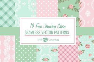 10 Free Shabby Chic Patterns