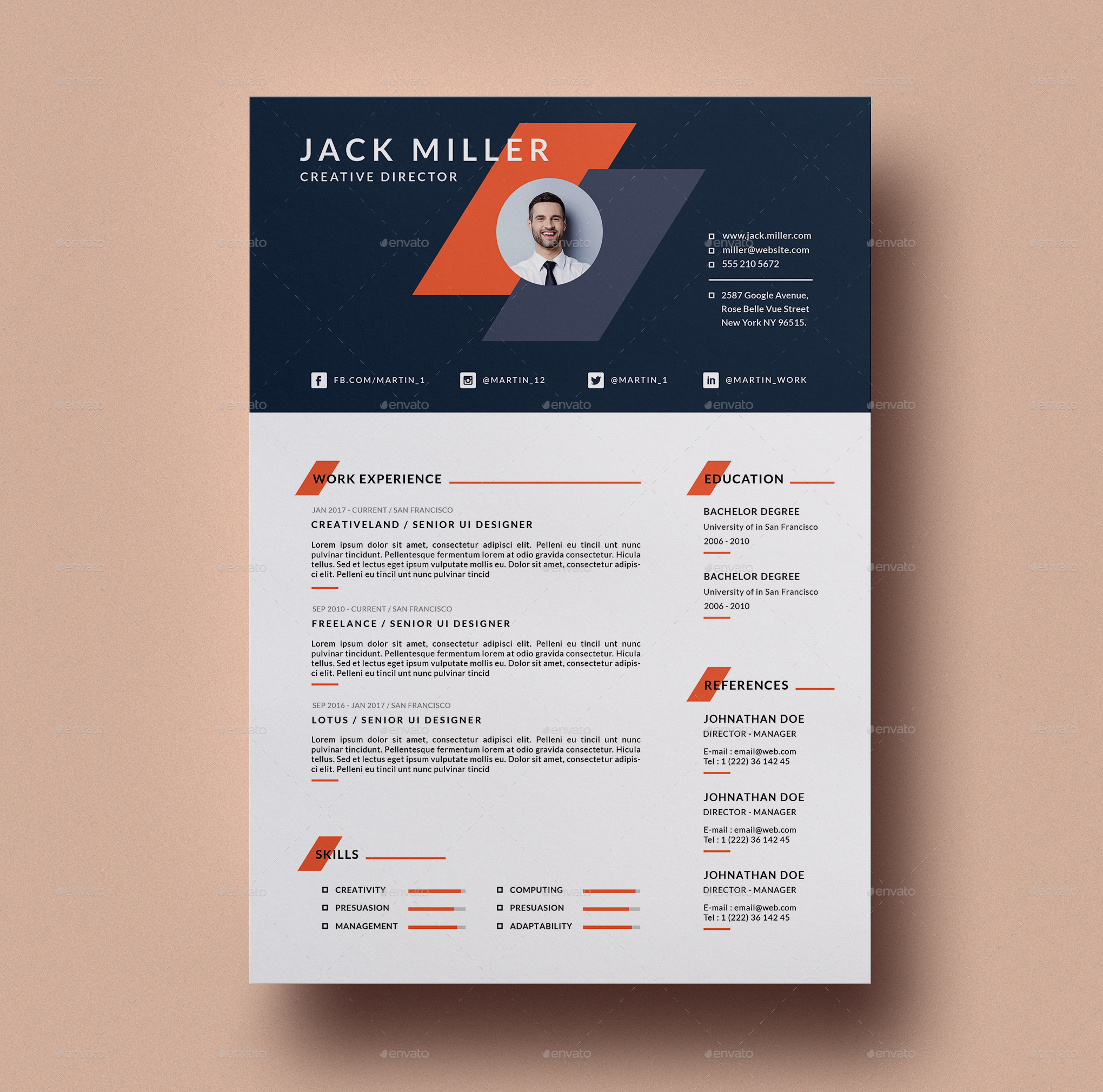 74+ FREE PSD CV/ RESUME TEMPLATES + COVER LETTERS TO