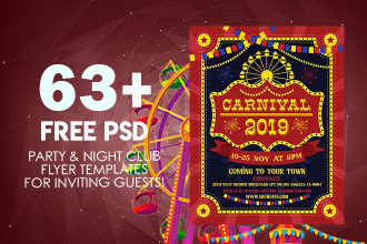 63+ PREMIUM & FREE PSD PARTY & NIGHT CLUB FLYER TEMPLATES FOR INVITING GUESTS!